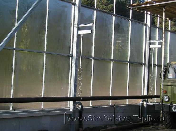 0020 Монтаж системы отопления промышленной теплицы
