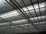0030 Монтаж системы зашторивания в промышленной теплице