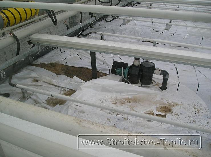0037 Монтаж системы отопления в промышленной теплице