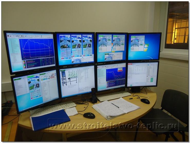 Система мониторинга процессов в теплице