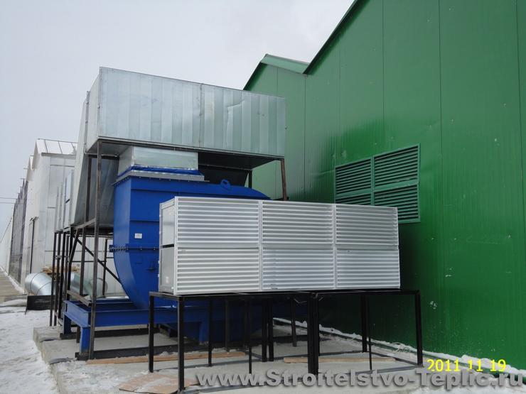 Вентиляторы для тепличных котлов