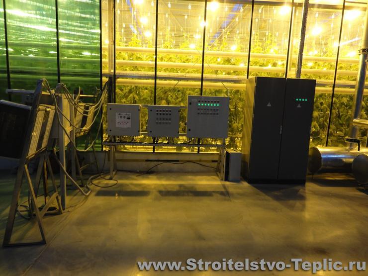 Система полива промышленной теплицы