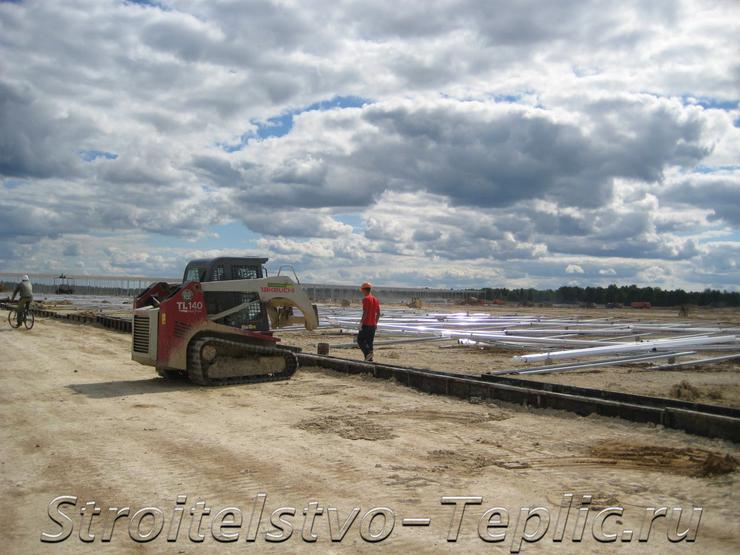 Ведется строительство ТК в Людиновском районе Калужской области