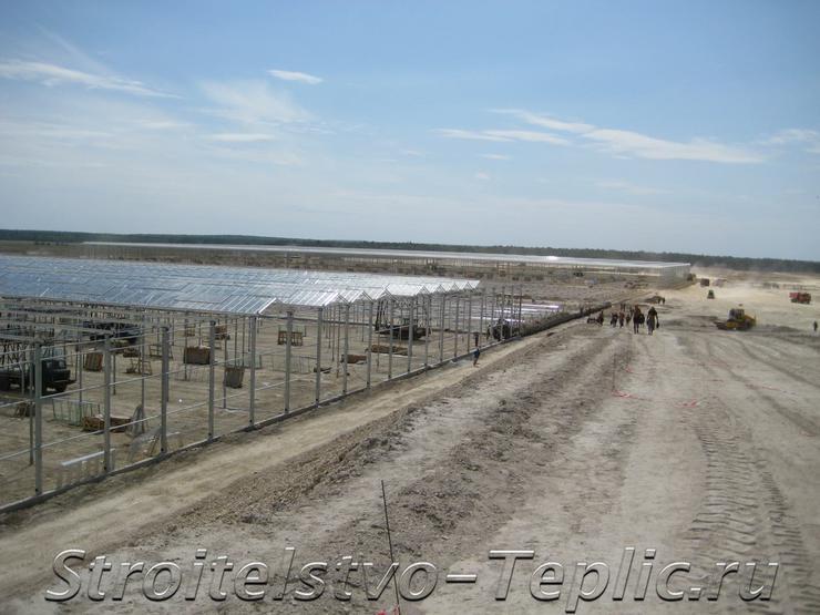 Строительство ТК в Людиновском р-не, Калужской области
