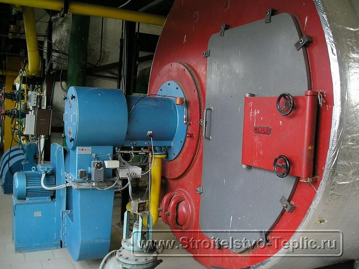 0057 Монтаж котельной, конденсора отбора СО2 в промышленной теплице