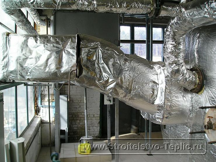0064 Строительство теплиц Монтаж котельной, конденсора отбора СО2