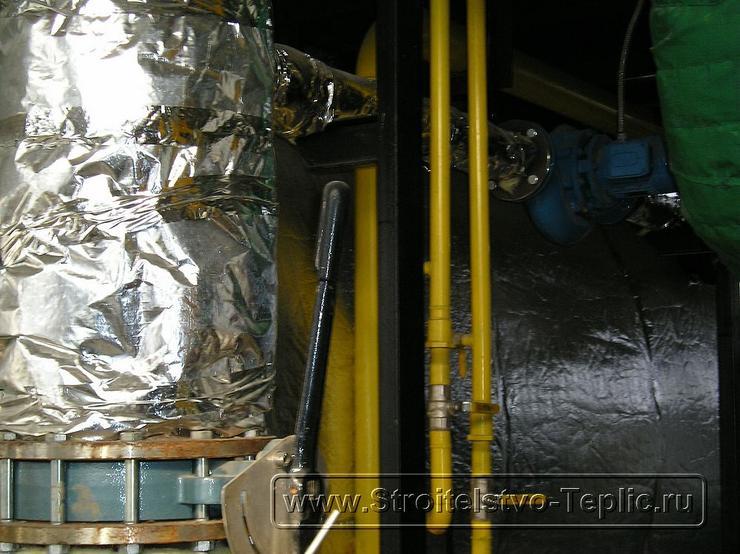 0065  Строительство теплиц Монтаж котельной, конденсора отбора СО2
