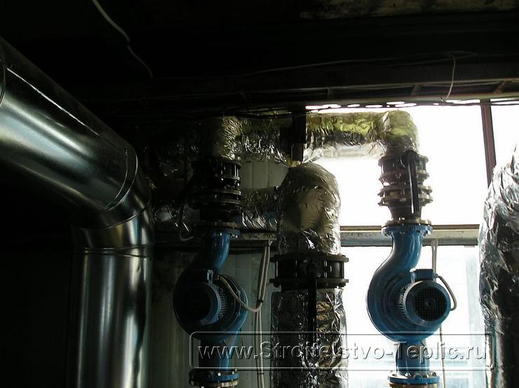 0070 Строительство теплиц Монтаж котельной, конденсора отбора СО2